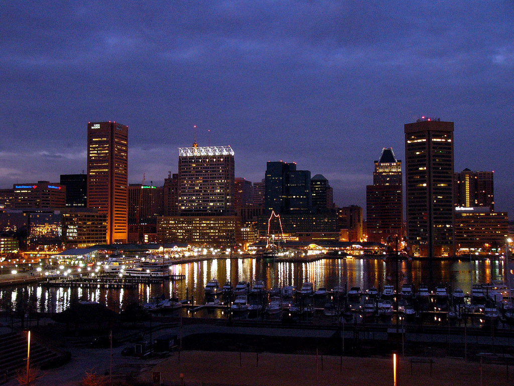 1.Baltimore Passes Curfew For Youth