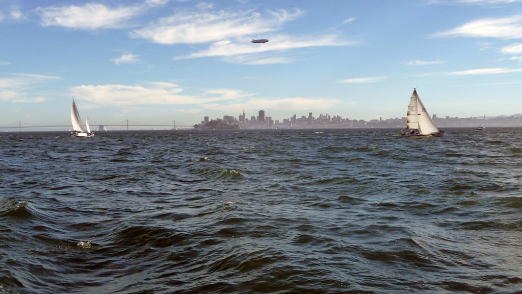Plane Fuselage Found in San Francisco Bay